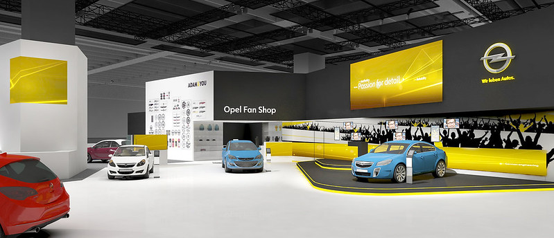 Opel-Messestand IAA 2013