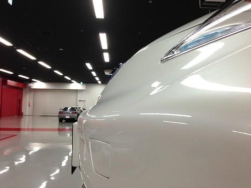 日産リーフ NISMOエアロパッケージ装着車