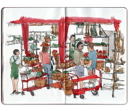 Marché Jean Talon 3 by Jennifer Appel