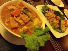 Tasty food and good service at Anjali Restaurant Bar in Phnom Penh