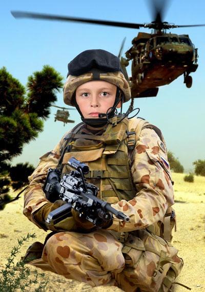 мальчик - солдат