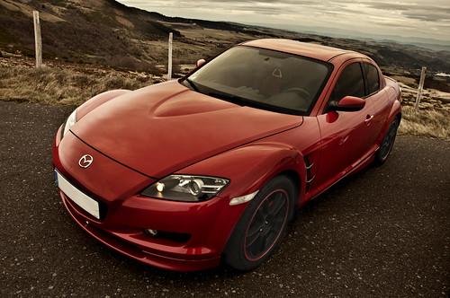 Mazda RX8 velocity Red