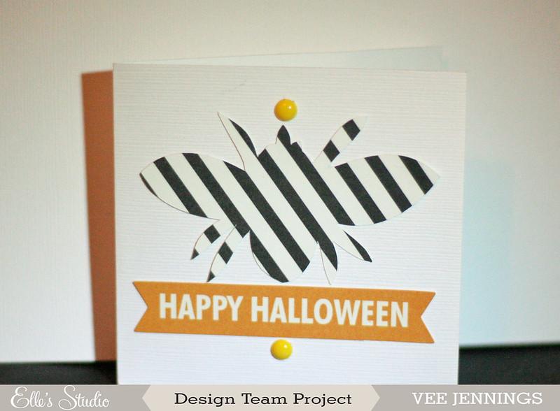 happy halloween card | oct. elle's studio
