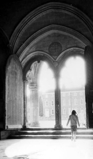 1980 Salisbury cathedral exit