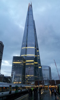 The Shard at twilight