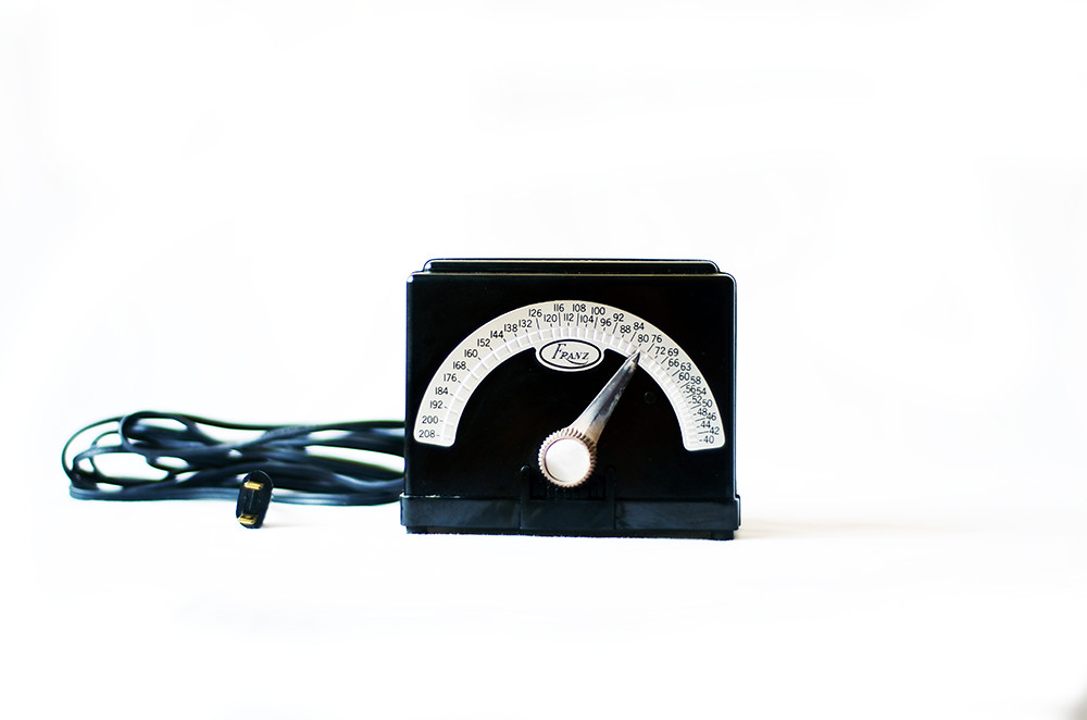 Vintage Black Electric Metronome