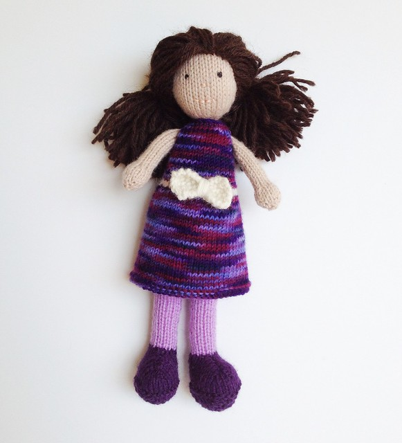 Knitting Pattern Large Rag Doll : Little Knit Rag Dolls I love these sweet little rag ...