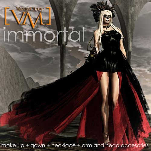 [VM] VERO MODERO  Immortal Gown Poster