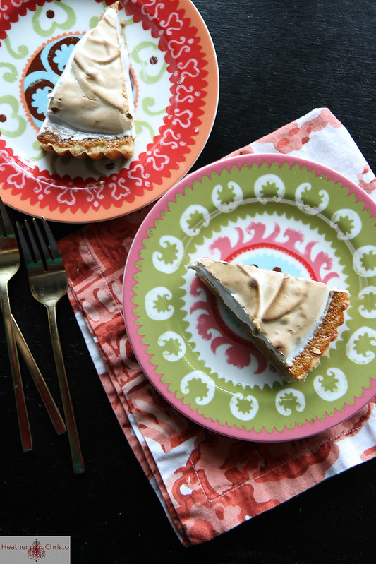 Sweet Potato Meringue Tart