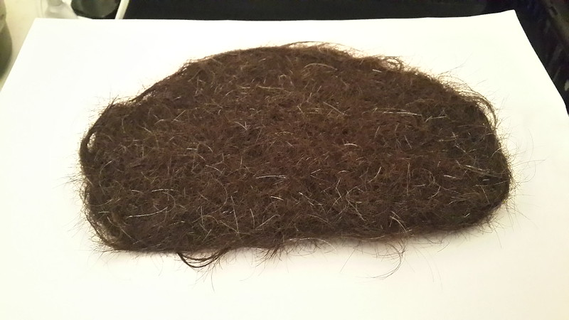 OPEN URBANISM: Unusual Materials - Felted Human Hair Coaster