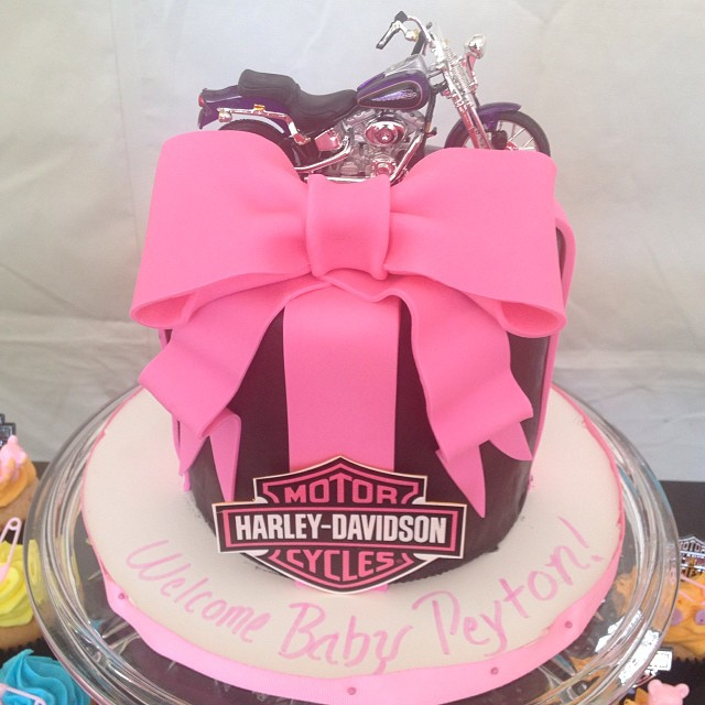 harley davidson baby shower cake awesome theme imagineitcake