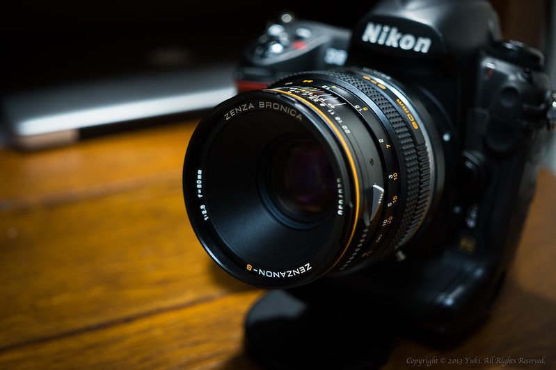 Bronica Zenzanon-s 80mm f2.8 with Nikon D3