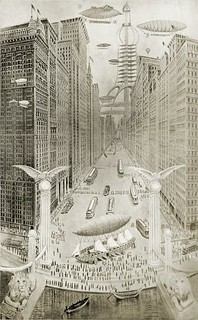 Seattle of 2014 as Imagined In 1914