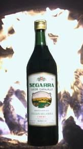 Botella de Licor Carajillo SEGARRA
