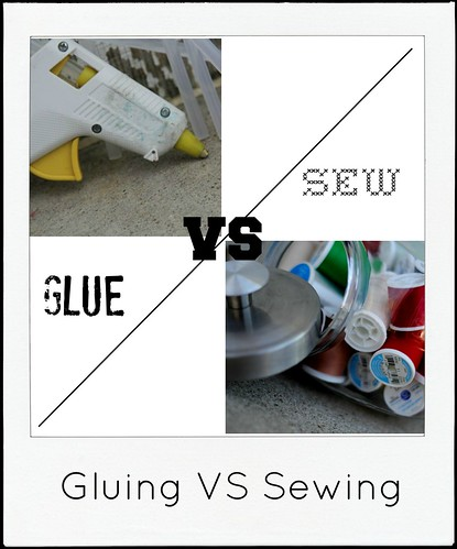 gluing versus sewing