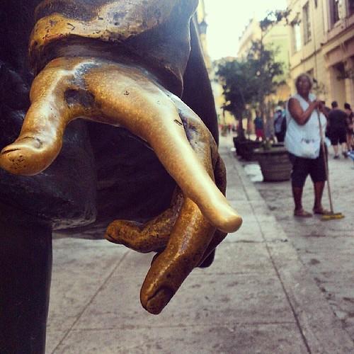 dame la mano #Habana #Cuba