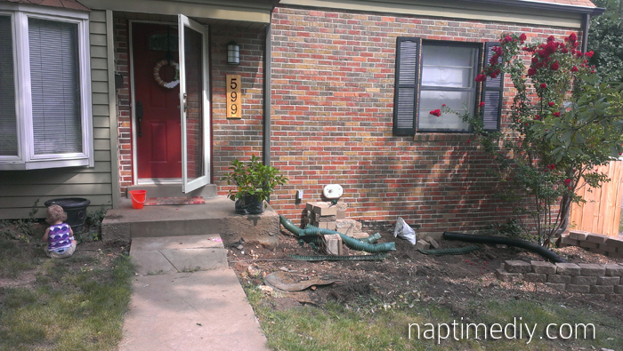 Retaining Wall Rebuild 8 (via NaptimeDIY.com)