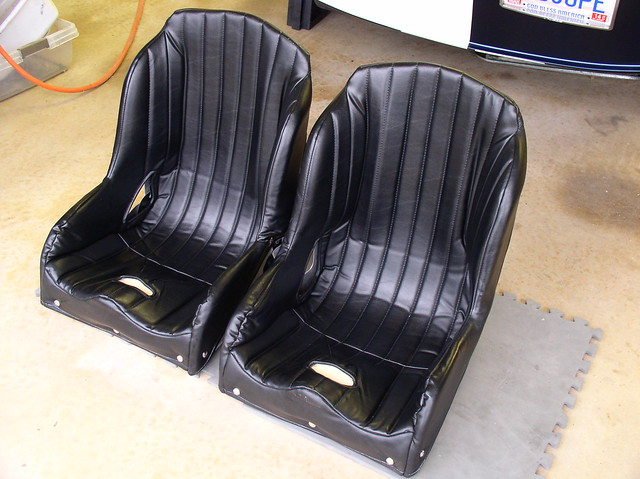 for sale used kirkey lowback seats with covers factory five racing discussion forum. Black Bedroom Furniture Sets. Home Design Ideas