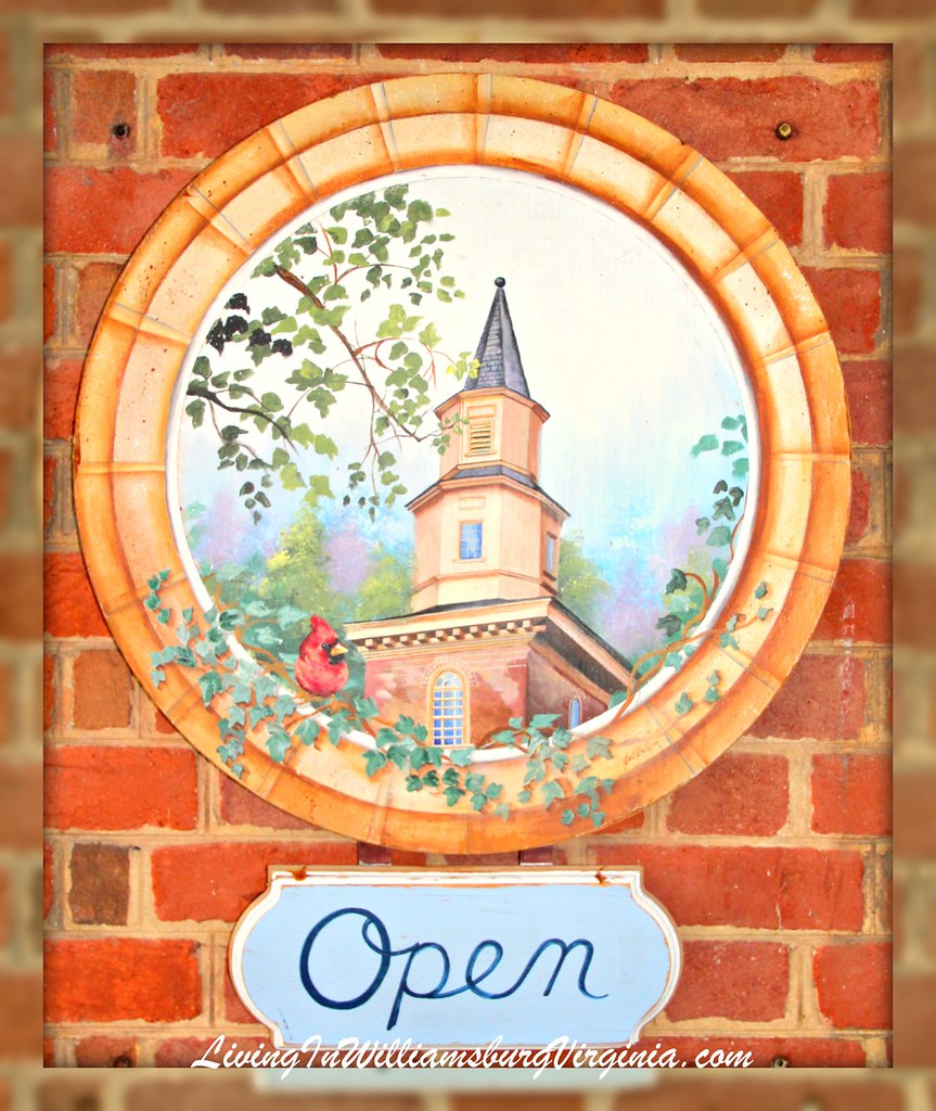Bruton Parish Store Sign
