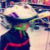 When I was a kid you couldn't get me to wear a helmet. Now that I have a kid he has no choice.