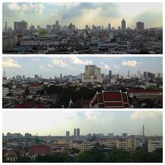 View from Wat Saket, Bangkok