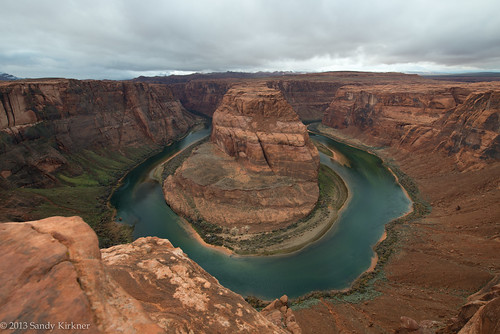 Stormy Afternoon at Horseshoe Bend [Explored]