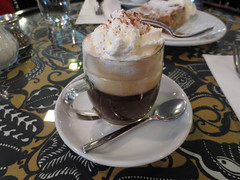 Cafe Fledermaus - Einspanner (Double Espresso with…