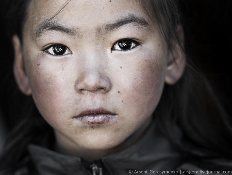 Portrait of Sherpa Girl