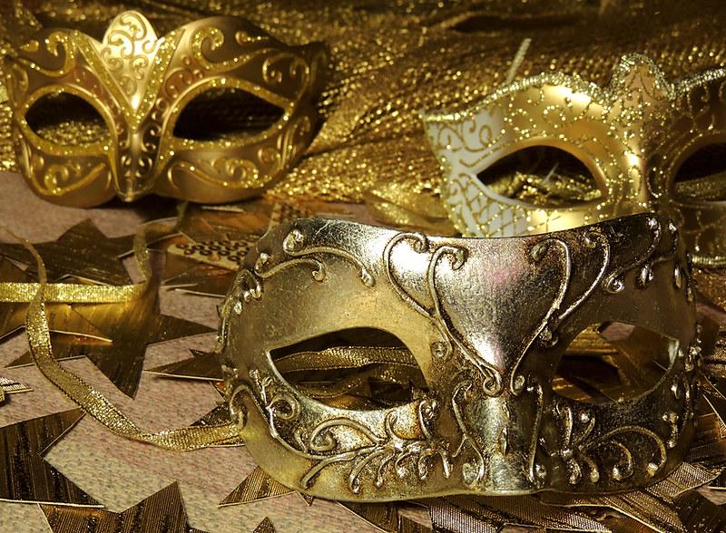 новогодние маски 3