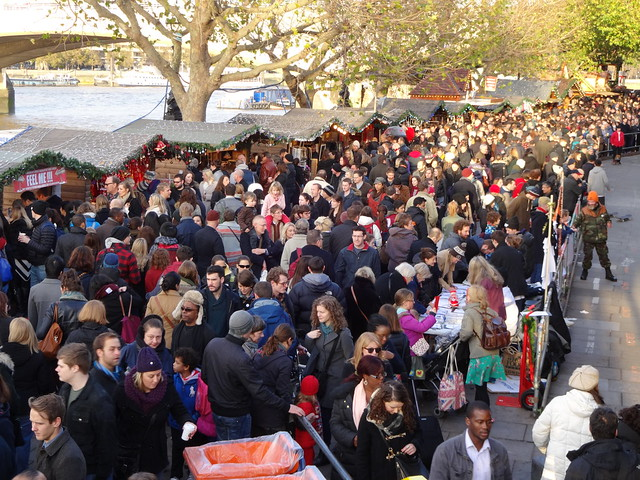 Winter market, Sunday afternoon
