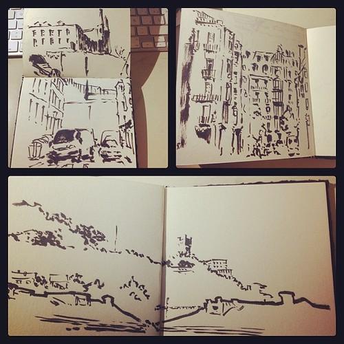 #donostia #urbansketch by josu maroto