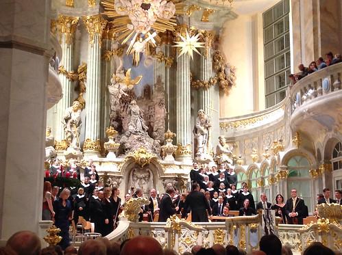 Weihnachtsoratorium in der Frauenkirche, Dresden by Ginas Pics