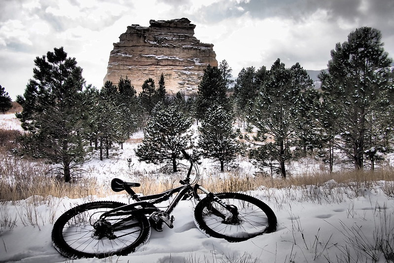 Snow ride in the Preserve