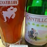 ベルギービール大好き!! カンティヨン・フランボワーズ・ロゼ・ド・ガンブリヌス Cantillon Framboise Rose de Gambrinus