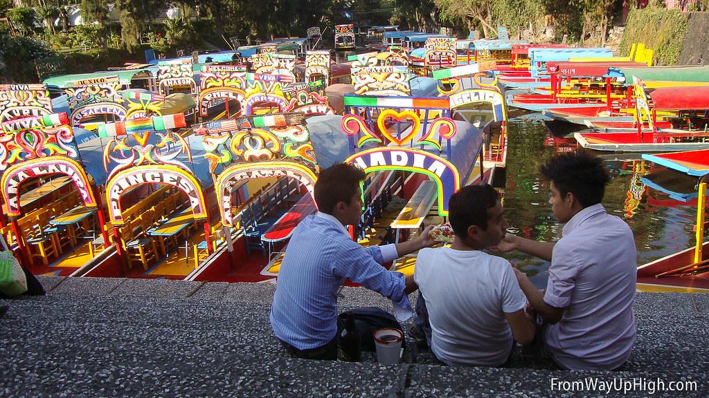 Xochimilco embarcaderos