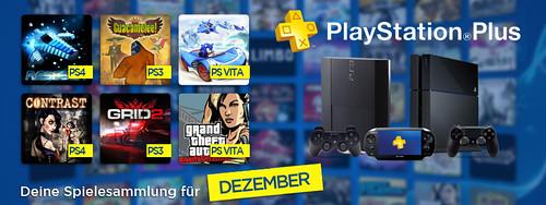 PS Plus im Dezember 2013