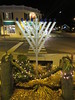 Hanukkah Menorah in the Village of Port Jefferson, New York by RYANISLAND