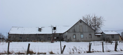 Old Barn in St-Mathieu-de-Beloeil, Qc