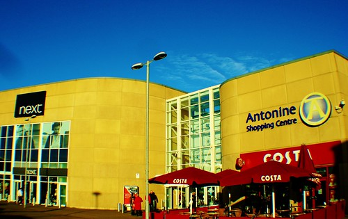 Antonine Shopping Centre, Cumbernauld, Scotland