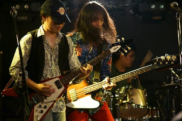 Wishbone Mash live at Outbreak, Tokyo, 21 Dec 2013. 312