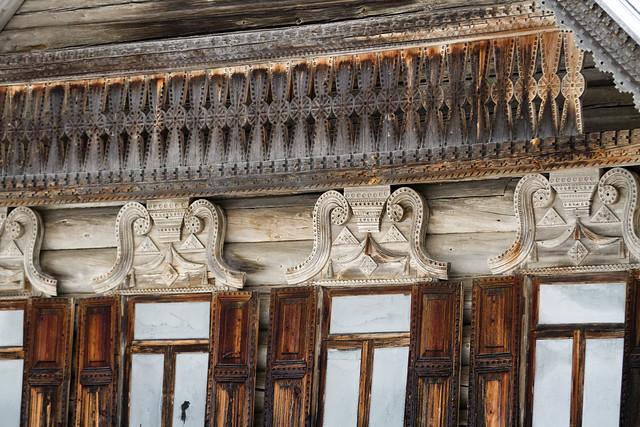 Detalj fra Maria Dmitrievnas izba