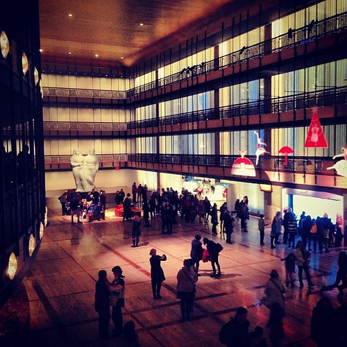 David Koch Theater lobby