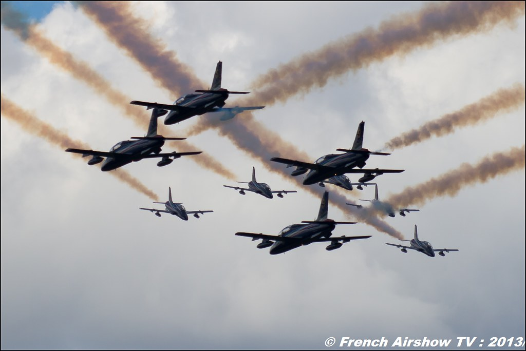 Freece Tricolori,60 ans Patrouille de France , Meeting Aerien 2013