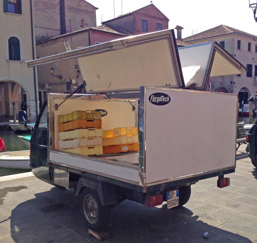 Chioggia Fischmarkt Transporter