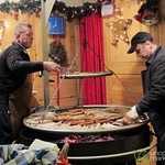 Bratwurst on the Grill - Gendarmenmarkt Christmas Market, Berlin