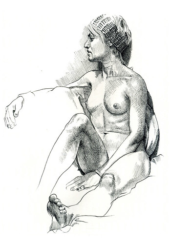 Joelle life drawing