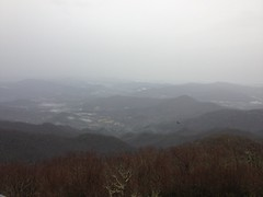 View to the East from Brasstown Bald
