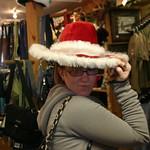 Sarah's got a new hat