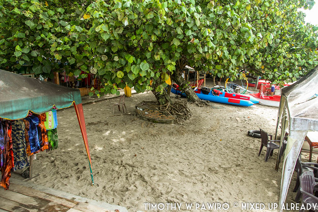 Indonesia - Medan - Samosir - Parbaba village - White sand beach
