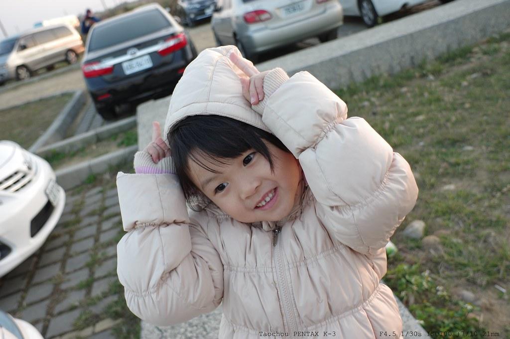 好望角遇見可愛女孩 (Pentax k-3 + DA21mm)